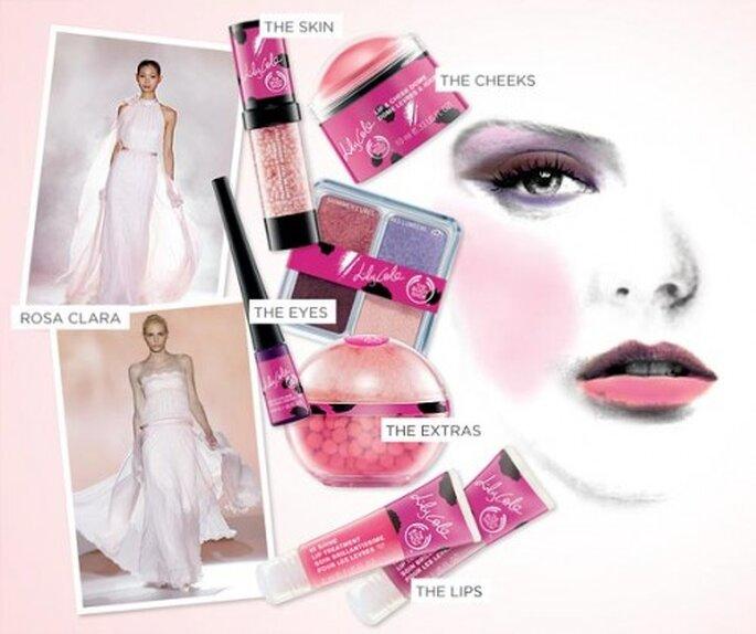Detalles en color rosa para novias - Foto Colin Cowie Weddings