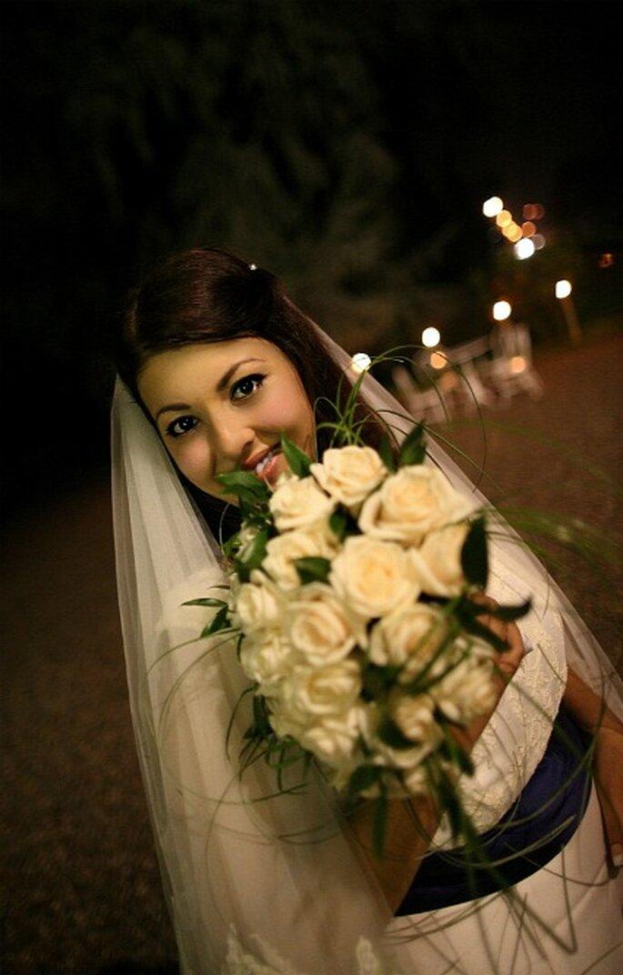 Bellissimo primo piano della nostra sposa Elisa. Foto di Marco Roveri
