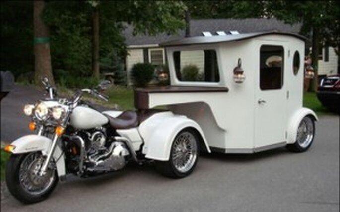 La Harley Davidson de Dan Dismile
