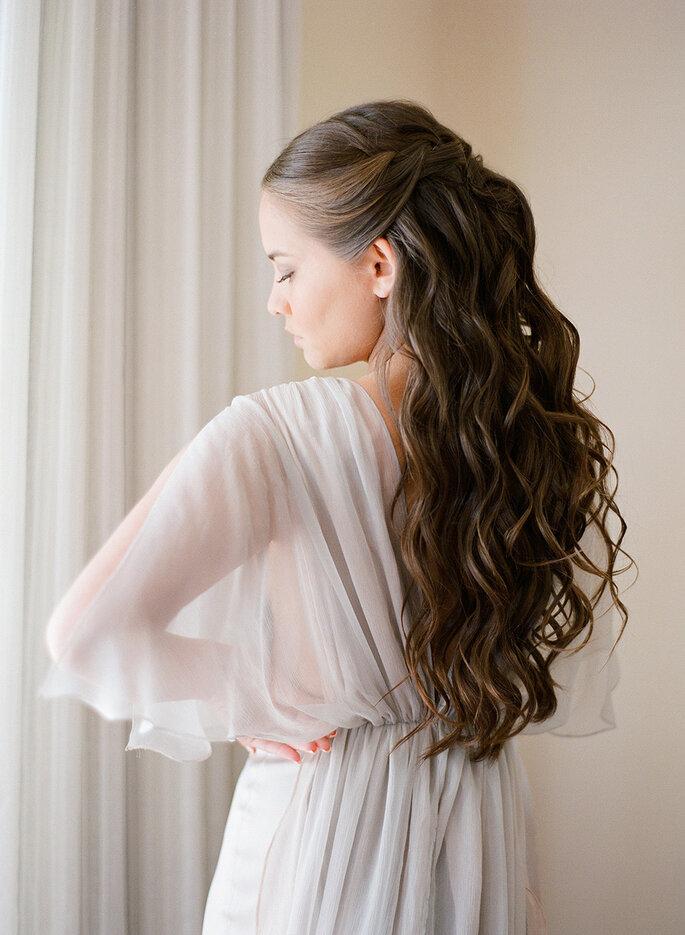 Peinados rom 225 nticos para novia las tendencias m 225 s lindas para el