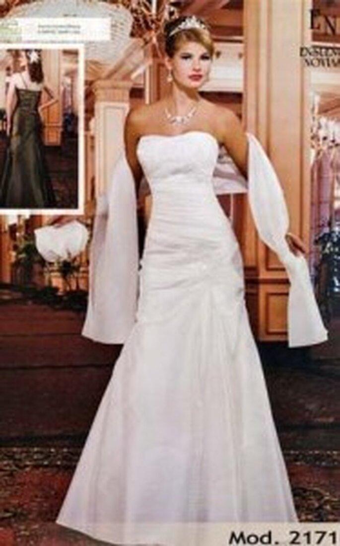 Conoce los vestidos de novia para boda civil de la empresa mexicana