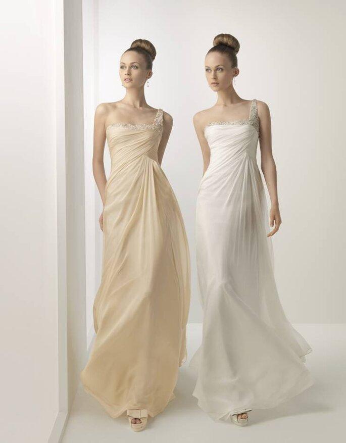 Vestidos de Noiva Rosa Clará 2012 - Hada