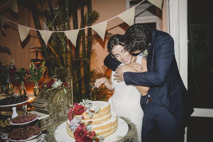 Bolo: Atelier dos Sabores. Foto: Nala Weddings