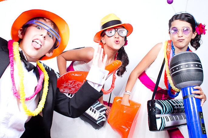 Cabinas de fotos en tu fiesta. Foto de Pepe Orellana