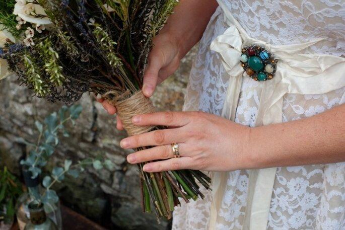 Decoración de boda estilo bohemian chic - Foto Astrid Murray