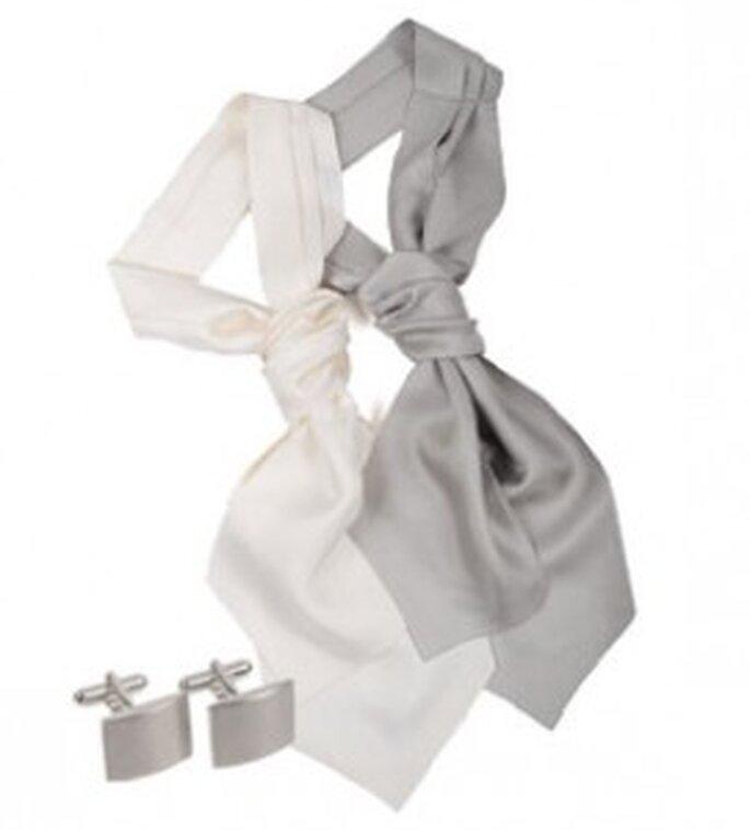 Complementos en color gris para novio de SOLOiO