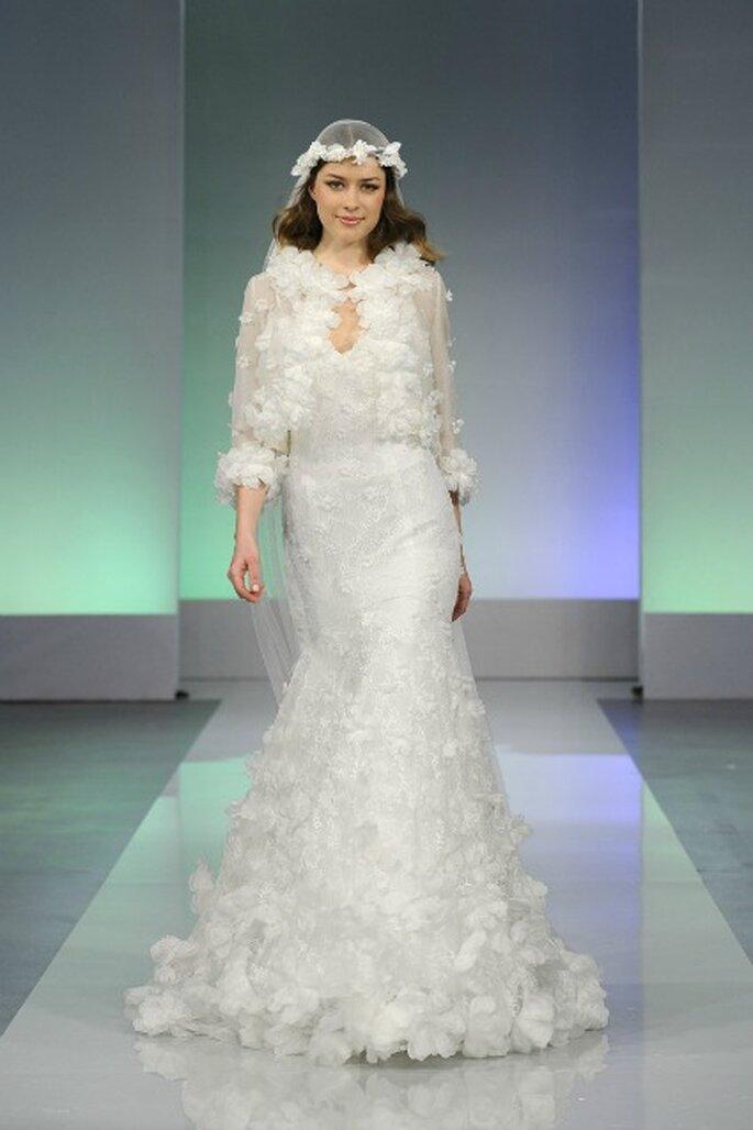 Robe de mariée Cymbeline 2013 La Parisienne, modèle Gervaise - Photo : Cymbeline