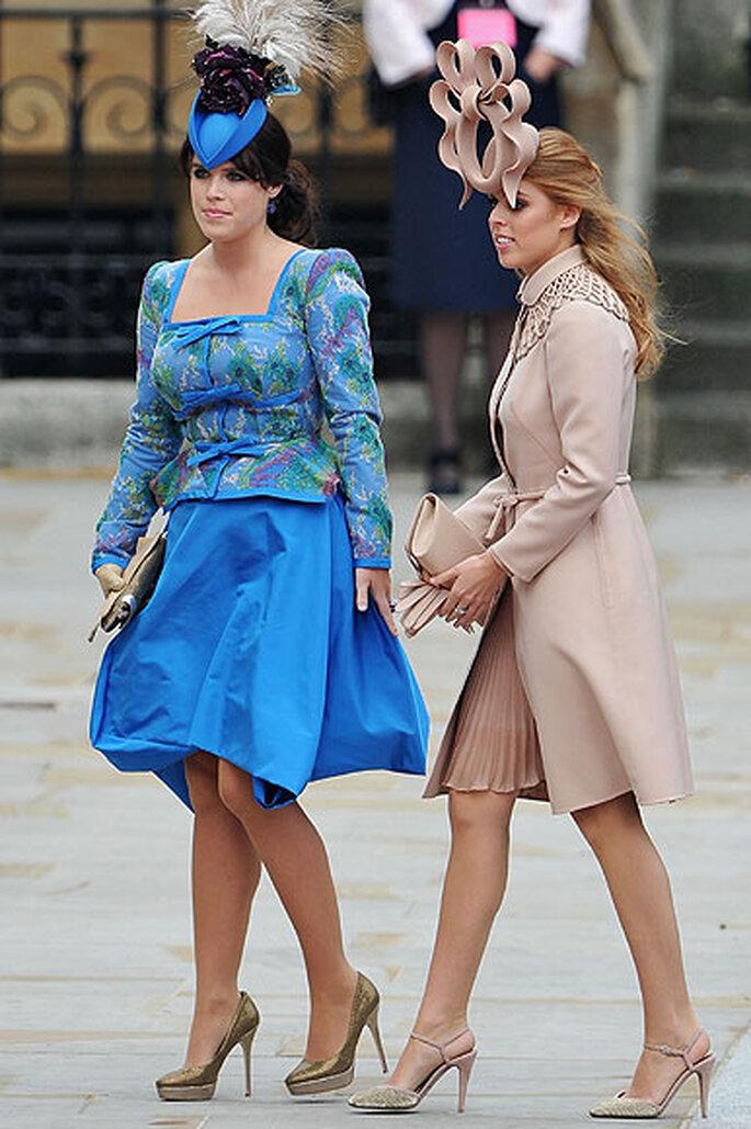 Beatriz y Eugenia