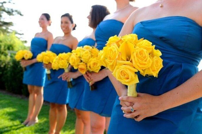 Decoración en amarillo intenso - Ulysses Photography