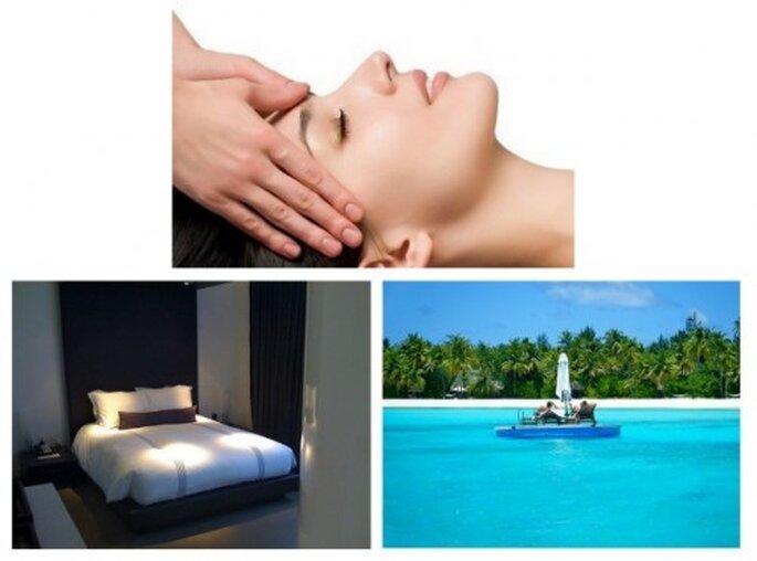 Regalos para parejas deluxe: sesión de masaje, fin de semana relax postboda