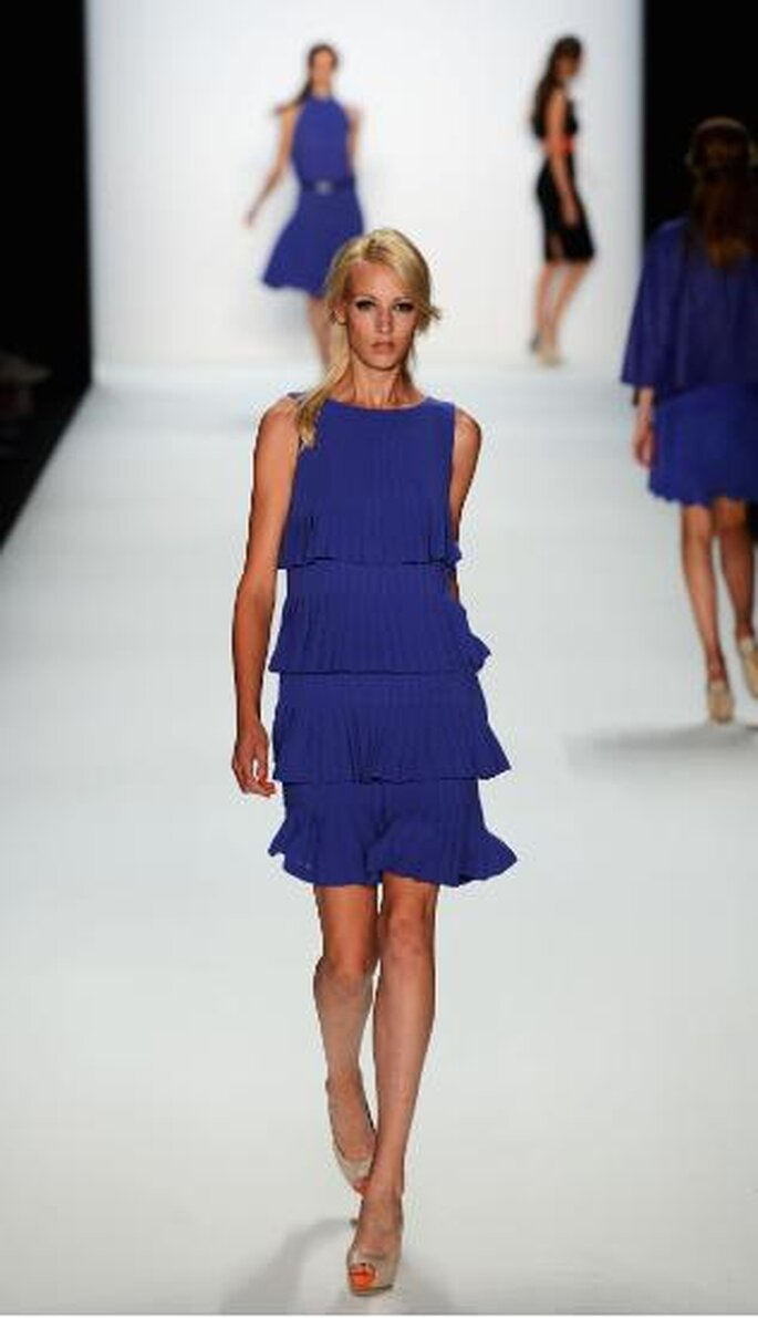 Laurel:Mercedes Benz Fashion Week SpringSummer 2013. Foto de Image.net