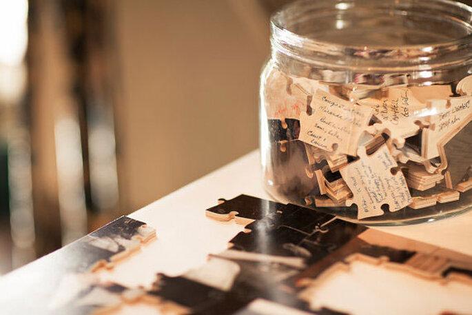 Livre d'or pour votre mariage : version puzzle !
