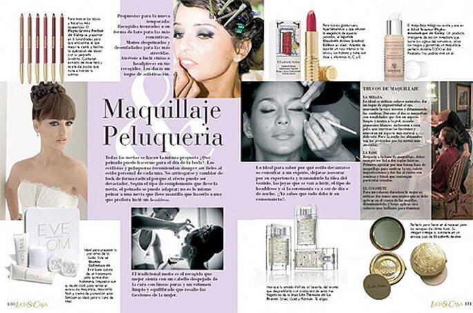 La revista incluye numerosas secciones de gran interés para las novias. Foto: LucíaSeCasa