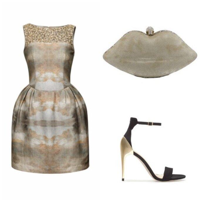 Vestido: H&M. Bolso: Marypaz. Zapatos: Zara.