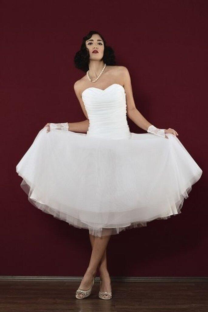 Vestido de novia por Dana Loré en MARRYJim