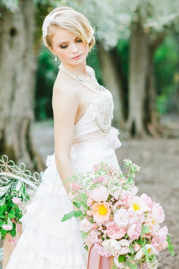 """Für einen """"pretty in pink""""-Auftritt bei Ihrer Hochzeit - Foto Avec L'Amour Photography"""