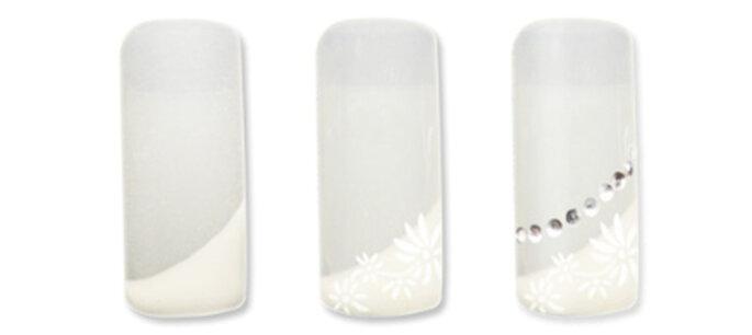 Acrylnägel für die Hochzeit - selbstgemacht. Foto: german-dream-nails.com