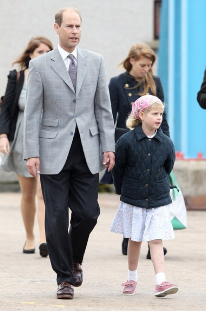 Lady Louise, hija del Príncipe Eduardo y Sophie Rhys-Jones