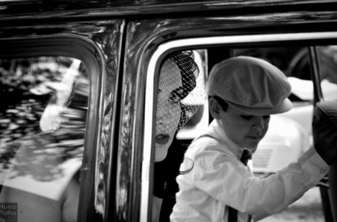 Boda retro inspirada en los 50s. Fotografía Nuno Palha