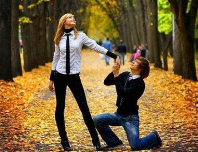 Una proposta di matrimonio unica..la vostra! Foto: pianetadonna.it