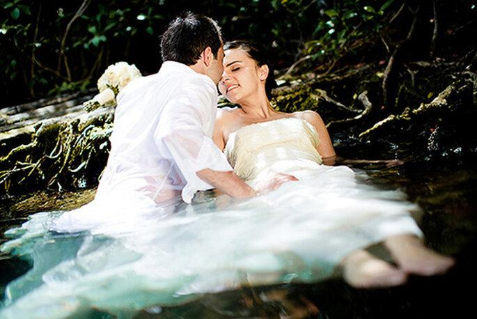 Mariage d'Edith et Yann au Mexique - Photo : Magic Flight Studio