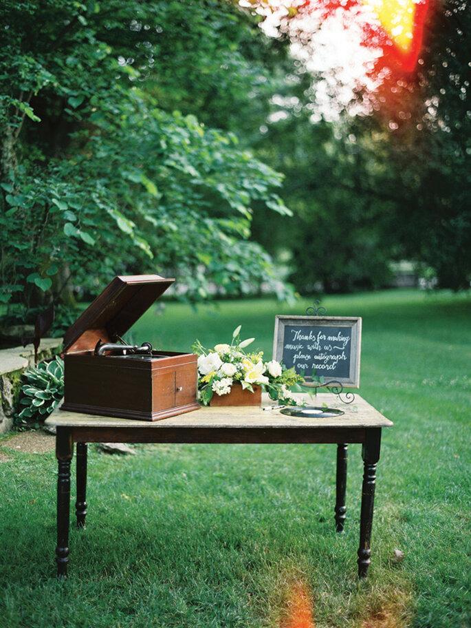 Boda con detalles musicales - Foto Nancy Ray