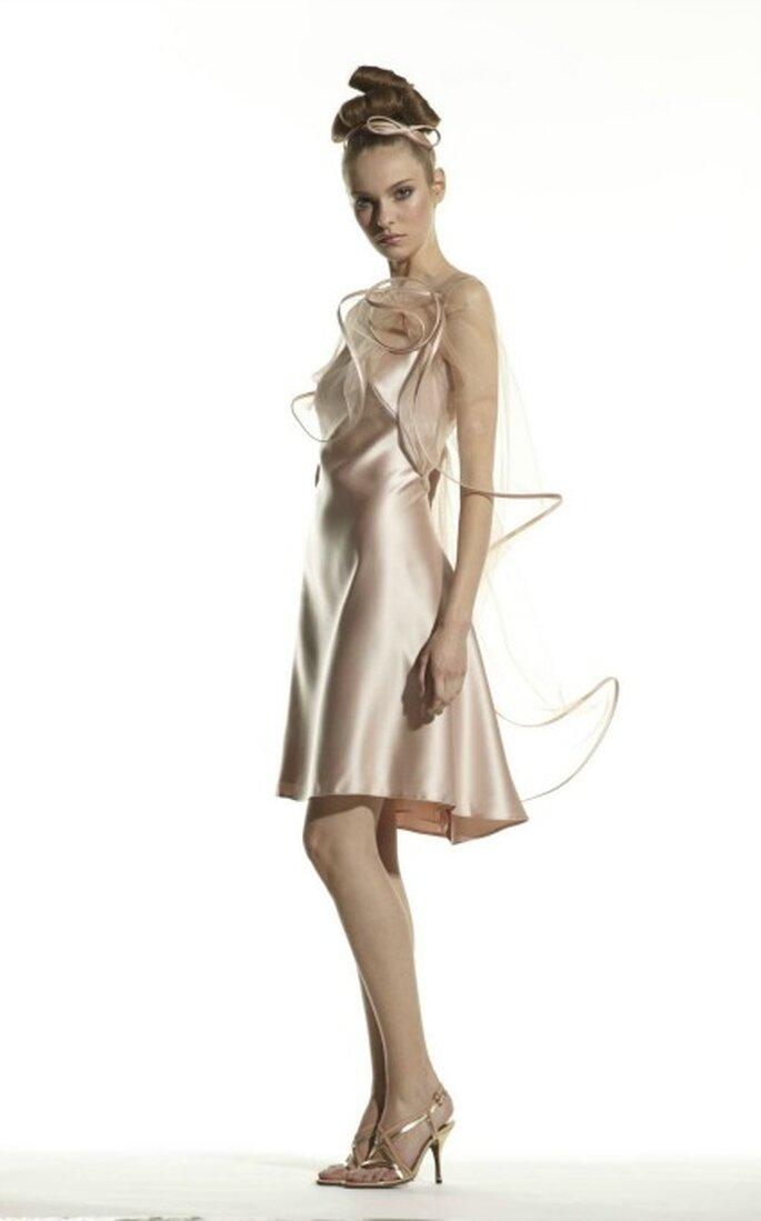 Robe de soirée Suzanne Ermann, modèle 1019 - Photo : Suzanne Ermann