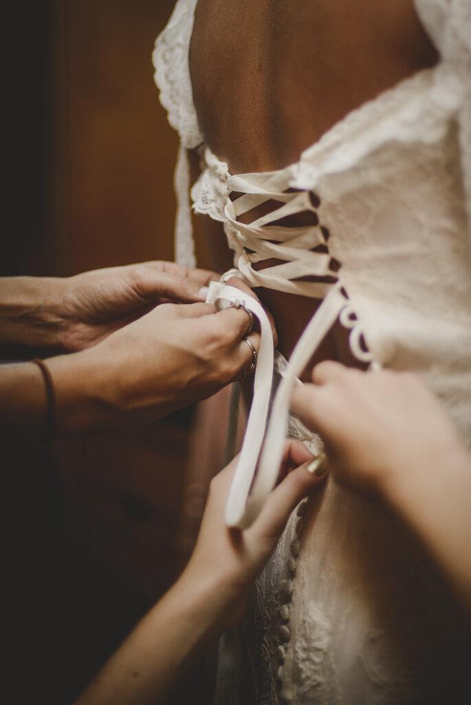 Vestido: Só núpcias. Foto: Nala Weddings