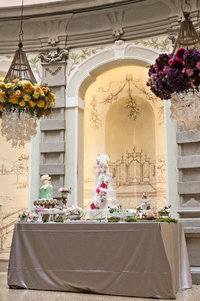 Allestimenti: Elisabetta Cardani + The flowers lab - Foto: Morlotti Studio