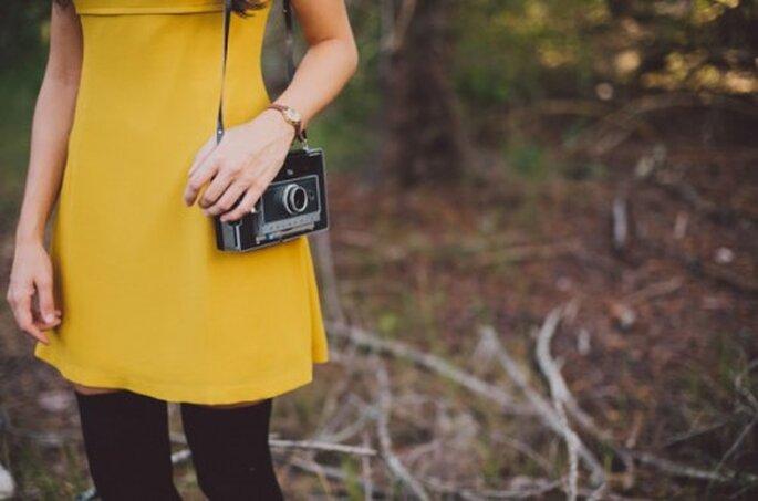 Polaroids y colores para un toque vintage - Foto Alyssa Shrock