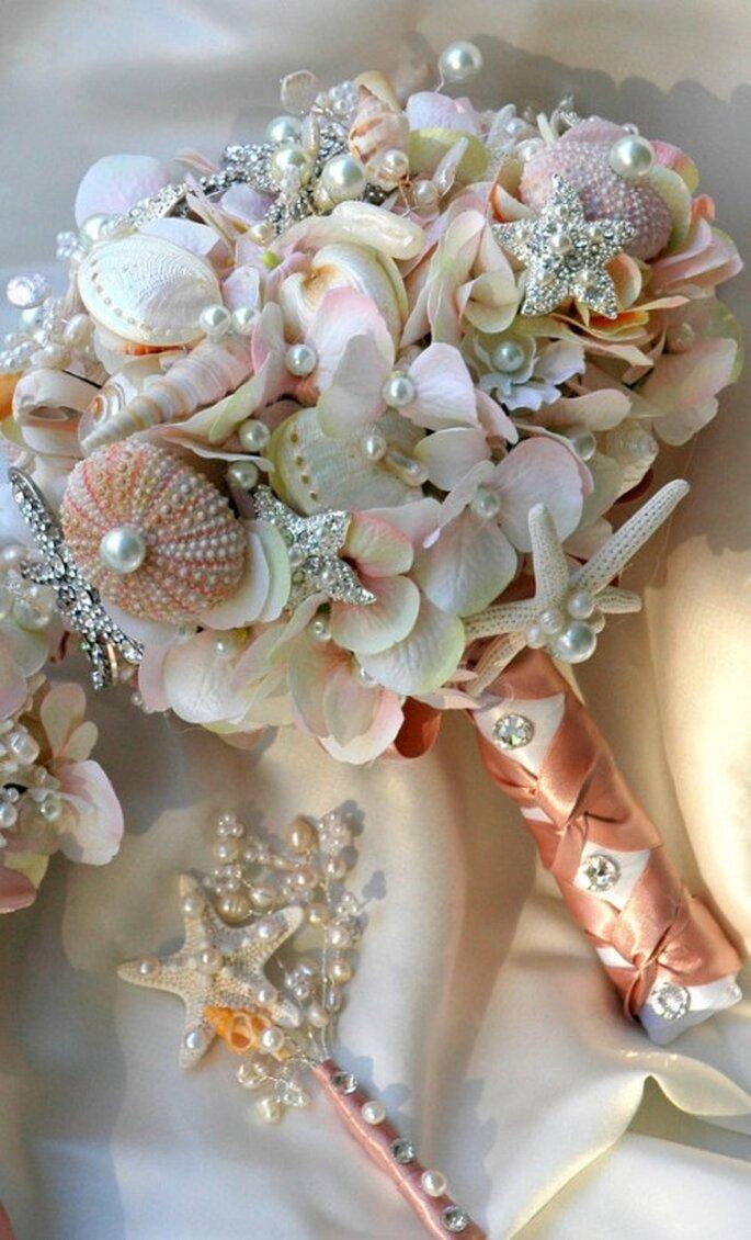 Bouquet avec coquillages