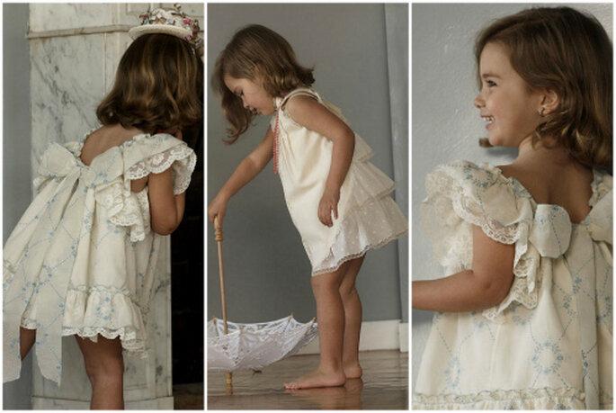 Vestiditos de ceremonia para niñas, de No sin Valentina