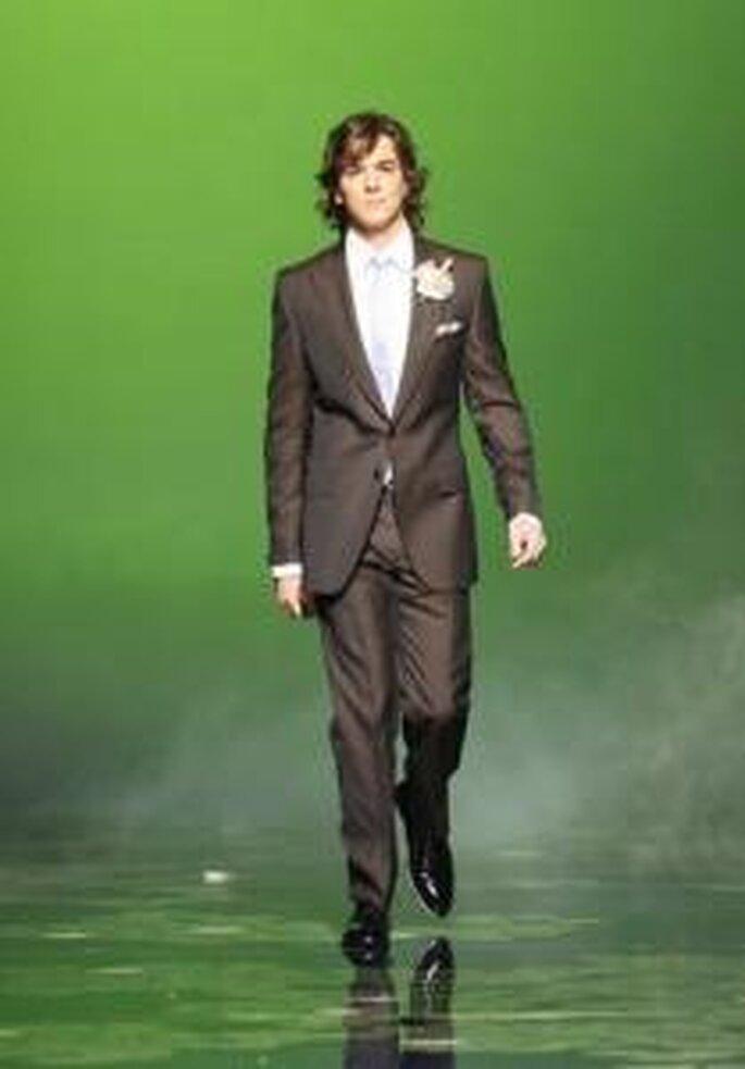 Victorio & Lucchino 2010 - Smoking long, pantalon droit
