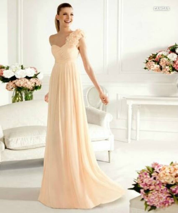 Pastel Dresses Pronovias Fiesta Collection 2013