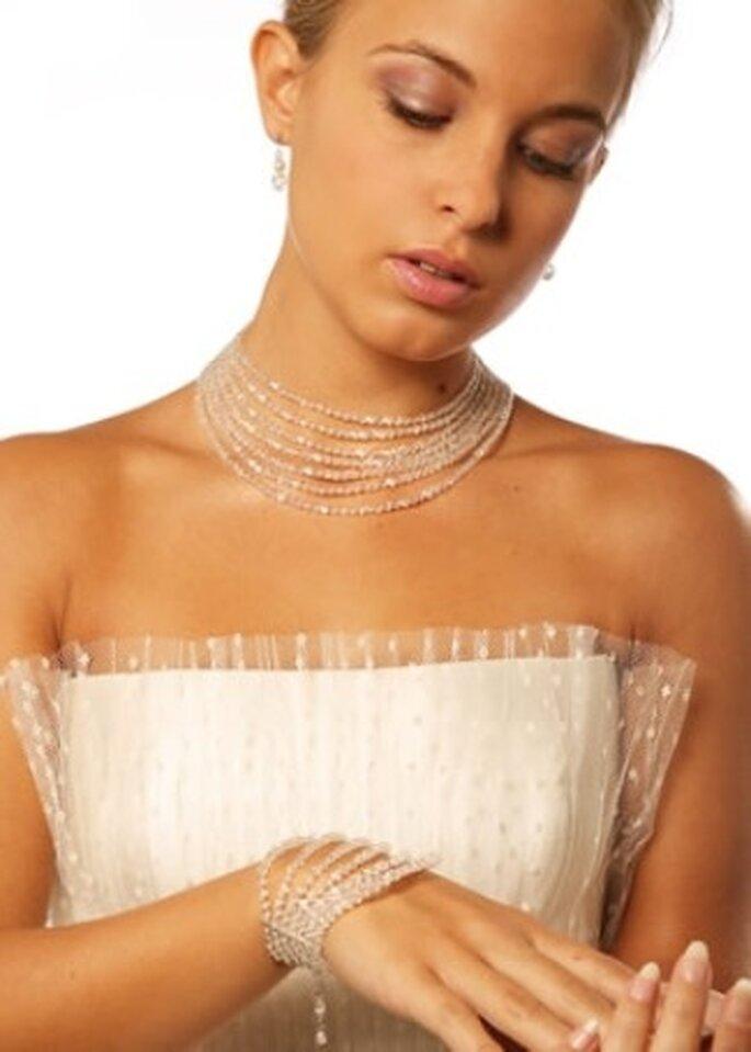Collier de mariée Cléopâtre