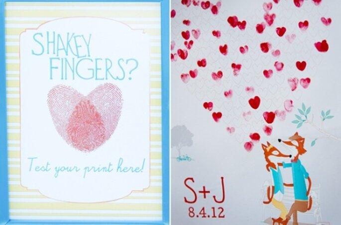 100 layer cake - Whimsical Valentine's themed wedding: Susie + Jared