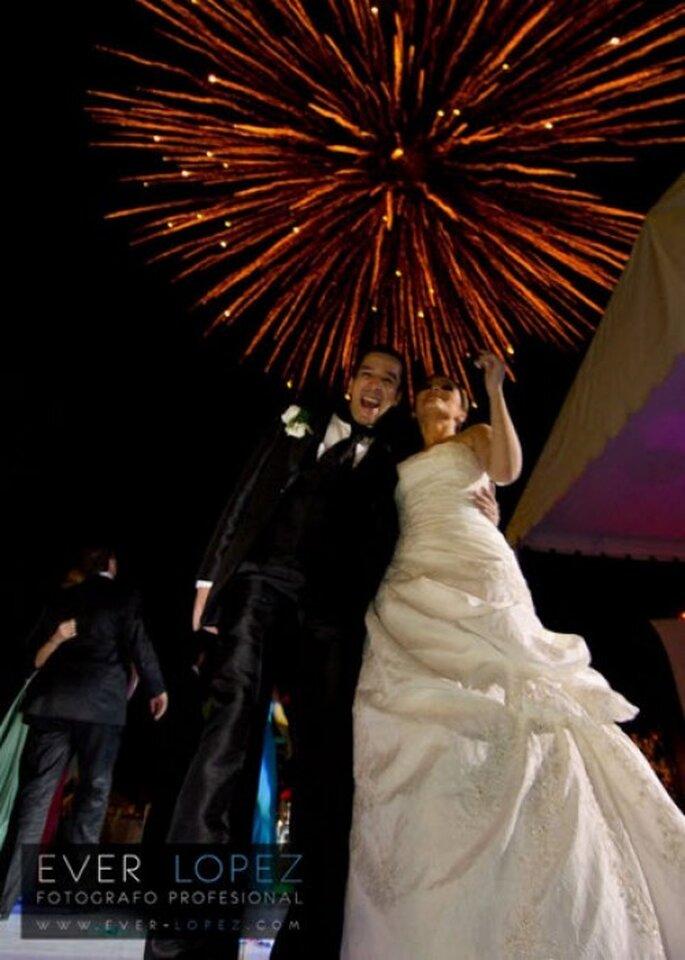 La pirotecnia en tu boda no puede faltar