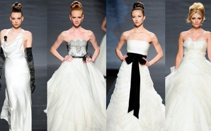 Colecção vestidos de Noiva Rosa Clará 2011