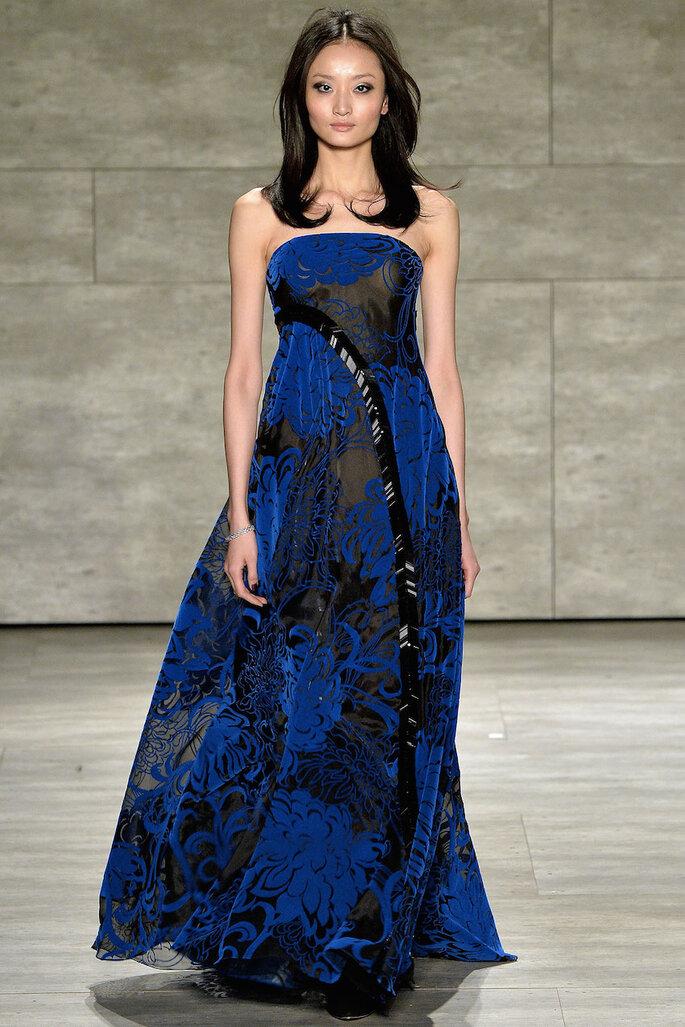 Vestidos de fiesta 2015 en color azul klein - Pamella Roland Facebook Oficial