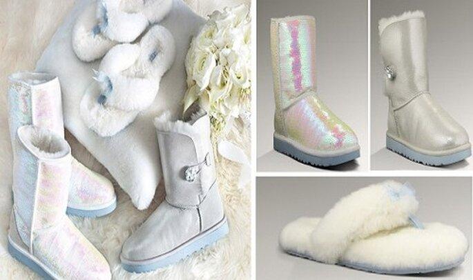 Mariage en hiver : les accessoires de mariée sont nombreux ! - Source : ugg