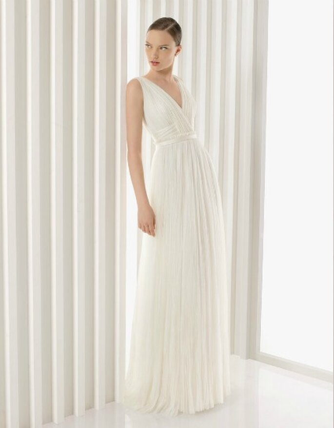 Vestido de novia de Rosa Clará, modelo Artemia