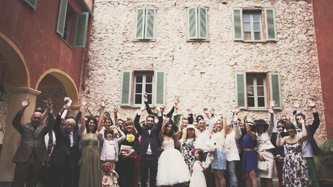 Gestiona la asistencia de tus invitados a la boda - Foto Claire Eliza