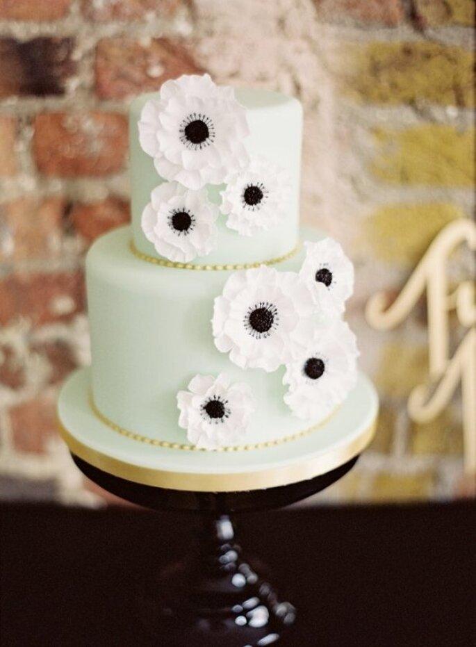decoración de bodas en color menta - Ed Osborn Photography
