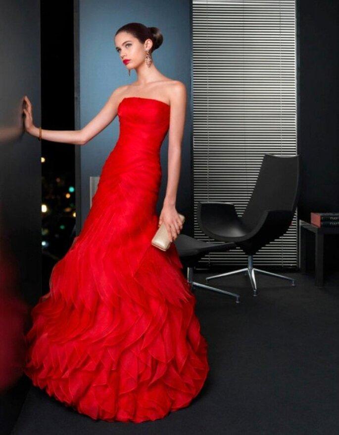 Ein Traum in Rot – Foto: Rosa Clara