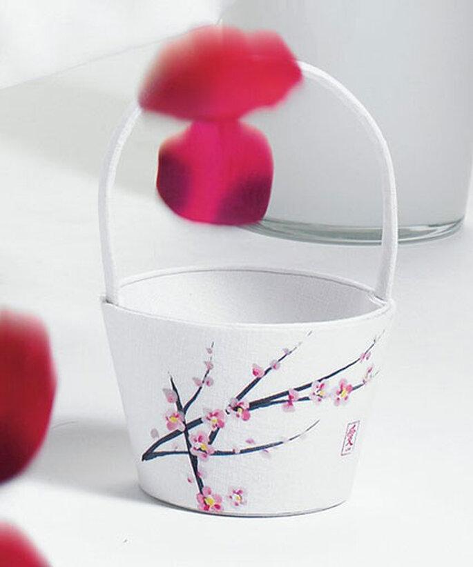 Körbchen für Streublumen aus der Cherry Blossom Kollektion