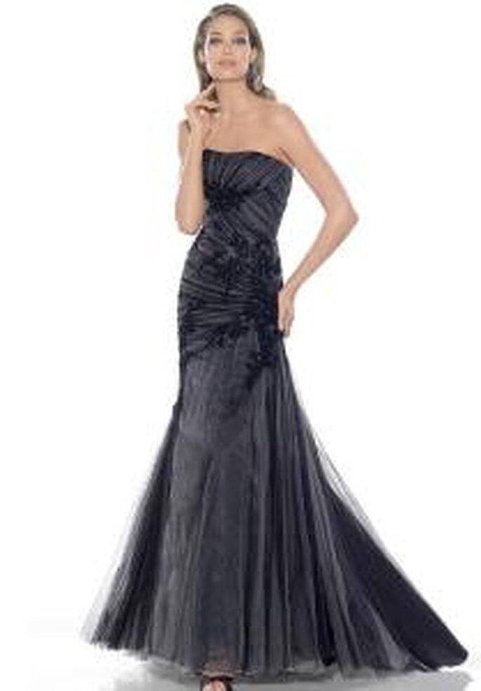 La Sposa 2009 - Robe noire, longue, bustier