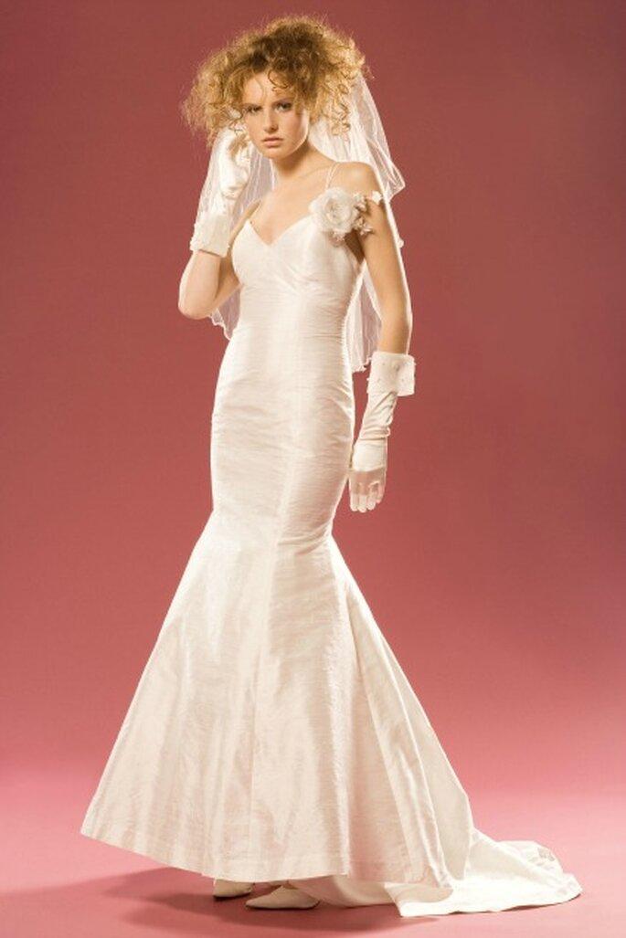 Robe de mariée sur mesure Aurélie Cherell - modèle Capucine