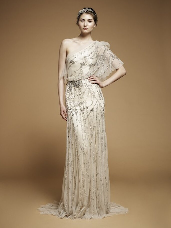 """Vestido de novia """"Iris"""" de Jenny Packham. Foto: www.jennypackham.com"""