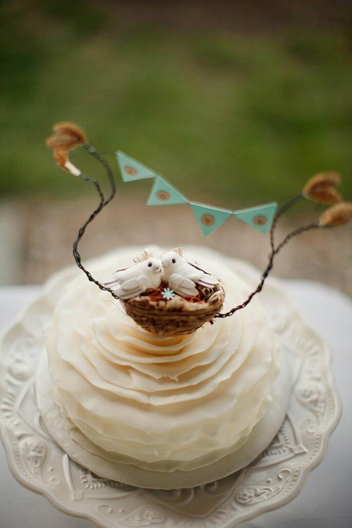 Los pasteles de boda con estilo rústico - Foto V.A. Photography