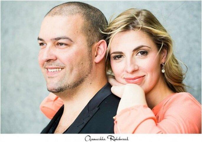 Un maquillaje perfecto para una boda perfecta. Foto: Anouscka Rokebrand Photography